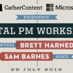 An image showing the banner for the Digital PM Workshop