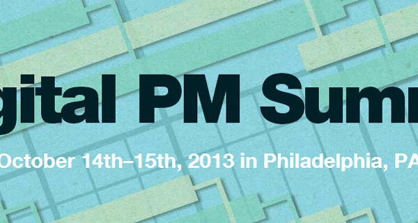 The Digital PM Summit banner.