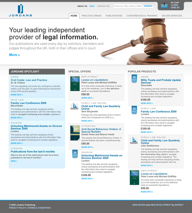 Making law books look sexy...
