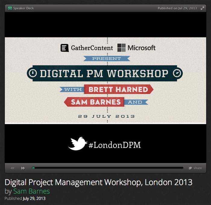 London DPM Slides