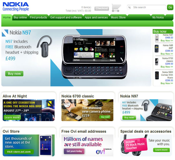 Web project management, account management, content entry - you name it, I did it for Nokia.