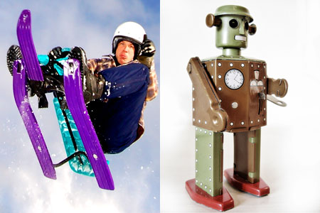 The extreme sportsman and the robot; the two web project planning personalities.