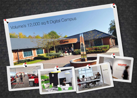 A picture of Volume's digital campus