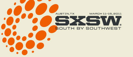 A screenshot of the SXSW 2011 Interactive logo