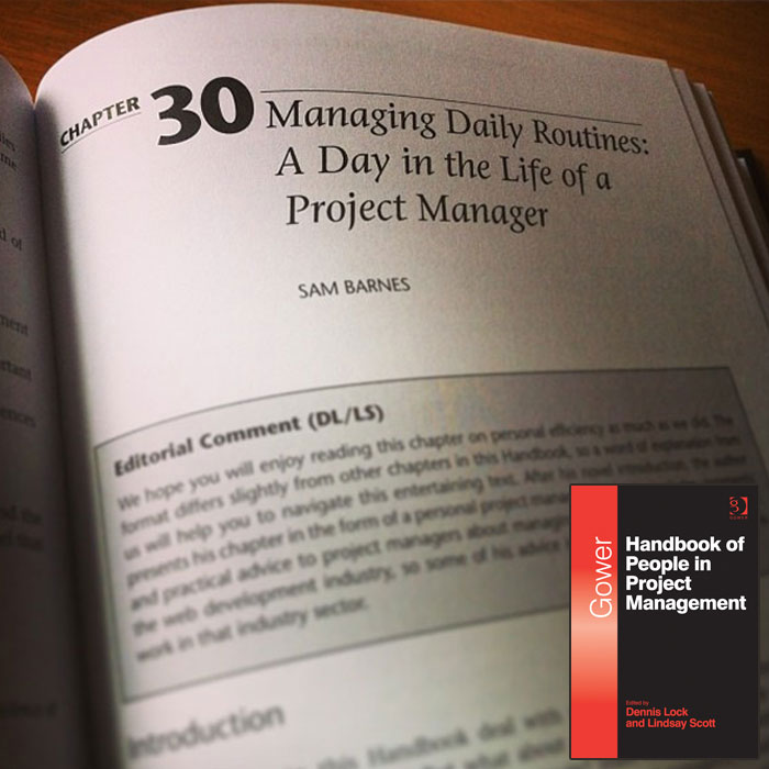 A photo of my chapter in the book with cover pic of the book placed in the bottom right hand corner.