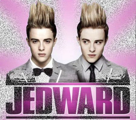A poster of a single from the Irish boy band Jedward