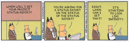 Dilbert would make a great Digital Project Manager